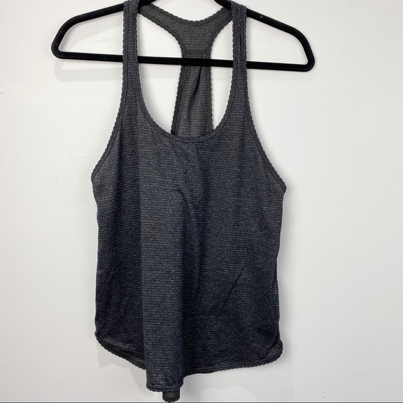 Lululemon racerback tank top striped